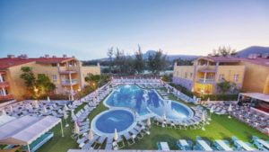 Compostela Beach Golf Apartments and Siam Park